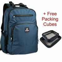 Diaper Bag - Multi-Function Baby Travel Backpack with 2 Packing Cubes, Navy Blue