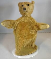 VINTAGE 1920s/30s MOHAIR TEDDY BEAR GLOVE PUPPET, POSSIBLY BY FARNELL