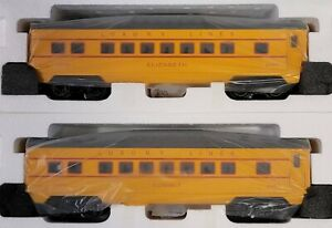 Williams By Bachmann Train 43247 O-27 U.P. Anniversary Streamliners 2 Cars (709)
