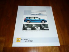 Renault Megane SPORTWAY Prospekt 05/2005 Dänemark