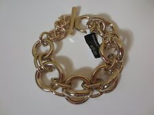 Banana Republic Glamour Double Link Focal Toggle Bracelet NWT $58