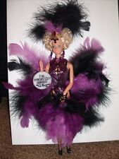 OOAK Barbie Doll Vegas Showgirl Burlesque Dancer Don Hayward Signed Kansas City