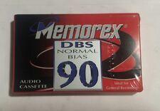 5 Memorex audio cassettes 90 min each