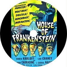House of Frankenstein (1944) Boris Karloff Fantasy, Horror, Sci-Fi Movie on Dvd