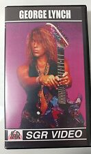 Video VHS - GEORGE LYNCH - REH Instruction Video SGR 2001 (VG) WORLDWIDE
