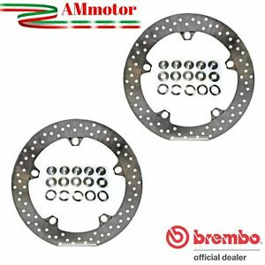 Discs Brembo Bmw R 1100 GS 1995 Brake Floating Pair Front Motorcycle Gold Series