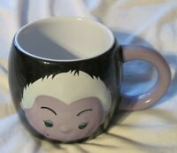 Disney Store Tsum Tsum URSULA Little Mermaid Ceramic Embossed Coffee  Mug 16 oz