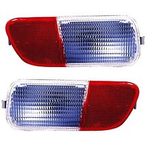 2006 - 2010 CR PT CRUISER REAR BUMPER BACK UP LAMP LIGHT LEFT AND RIGHT PAIR SET