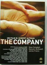 Dvd The Company di Robert Altman 2003 Usato