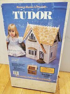 New in Box Dura-Craft Tudor Vintage Dollhouse Kit TD200