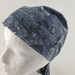 EZ Cool Cooling Tie Hat Du Rag Headwrap Skull Cap Band Terry Front Elastic Back