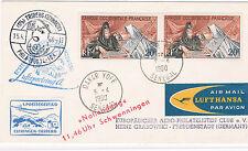 1960. Senegal a Alemania. Sobre  con sello  y Viñetas