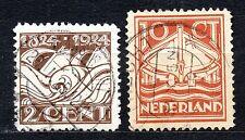 Netherlands - 1924 Life saving society centenary Mi. 141-42 Superb used
