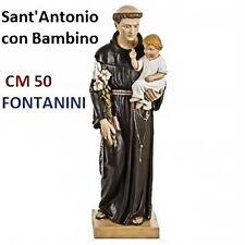 Statua religiosa FONTANINI sant'antonio con bambino cm 50 in resina arte sacra