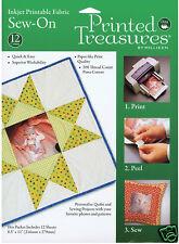 Dritz Printed Treasures Printer Fabric Sheets 12 Pack -  Value Pack!!!