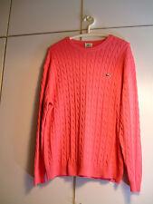 LACOSTE Pullover   ; Unisex ;  pink ;  Größe s. Text ;  100 % Baumwolle