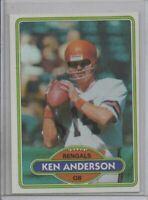 1980 TOPPS KEN ANDERSON (NM/MT)