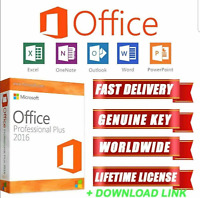 Microsoft Office 2016 Professional Plus MS Office 2016 Pro🔑Key  🔥Fast Delivery