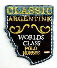 Applikation zum Aufbügeln Bügelbild 3-797 World Class Polo