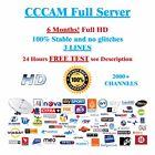 CCCAM Service 6 Months Dreambox vu + Price just 9,95 €