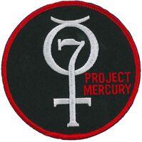 "NASA PATCH vtg PROJECT MERCURY - First US Human Space Flight Program - 4"""