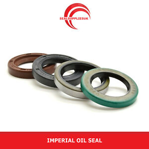 """Imperial Oil Seal: 1"""" Shaft - Various Sizes/Styles"""