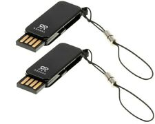 2 x Regen Micro SD SDHC Card Adapter USB Stick to 8GB
