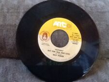 """Billy Parker""""Nothing But Our True True Love"""" PROMO ARTCO 45"""