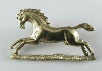 3rd King's Own Hussars Genuine Collar Badge - LH - British Army