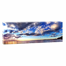 Panorama Fotoleinwand Keilrahmen Bild Deko Poster Wandbild XXL 150 cm* 50 cm 485