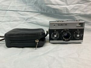 Vintage Rollei 35 camera with case