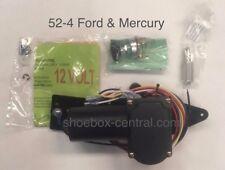 1952 1953 1954 52 53 54 Ford & Mercury 12V Electric Wiper Motor Kit