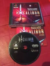 PLAYSTATION 1 PS1 PSone -  EXCALIBUR 2555 A.D. - +BOX INSTRUCTIONS COMPLETE PAL