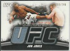 Jon Jones 2010 Topps UFC Knockout Fight Mat Relics Card # FMJJ 255/288