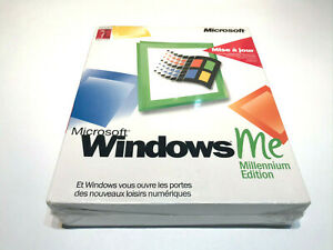 MICROSOFT WINDOWS ME MILLENIUM MISE A JOUR WINDOWS 95 98 FRENCH NEUF NEW SEALED