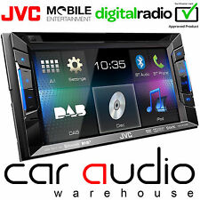 "JVC KW-V235DBT 6.2"" double din dvd usb MP3 aux radio DAB & auto bluetooth player"