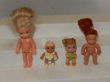 Vintage Baby Dolls Lot of 4 - Kenner Mattel Barbie