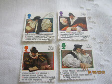 G B 1988 USED SET OF 4 STAMPS  S G 1384-7 WELSH BIBLE  G18/115