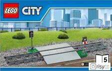 Lego® City Bahnübergang inkl. Schienen (60098) NEU 7939 7938 3677 60052