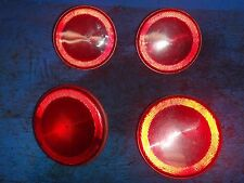 1984-1990 C4 CORVETTE TAIL LIGHT SET OF FOUR 16500317 NICE UNDAMAGED