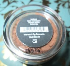 🖤 bareMinerals WEARABLE BROWN MEDIUM Eye Shadow  🖤  0.2oz./.57 New + Sealed