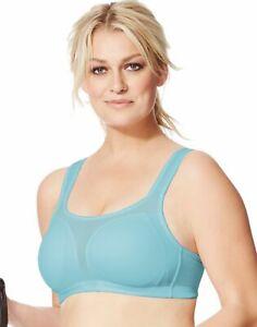 Champion Sports Bra Shape U-Plus Women Athletic Gear Plus Size QB2399 Gel Straps