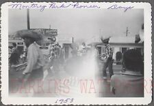 Vintage Photo Monterey Park Pioneer Days Parade Marching Band California 744448
