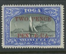 Tonga, Mint, #67, Og Nh, Paper Stuck On Back, Great Centering