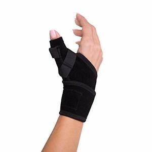 DONJOY Advantage - THUMB Splint w/ Stabilizers ONE SIZE - 1ct Black - NEW