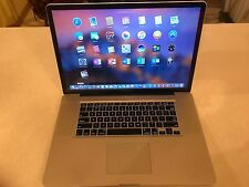 Apple MacBook Pro 17 CORE i5 Pre-Retina Mac OS-2016 8GB RAM 1TB SSD HYBRID