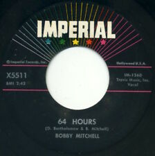 """BOBBY MITCHELL 64 Hours/I Love To Hold You 7"""" 1958 Imperial VG+"""