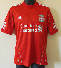 Adidas Liverpool Football Shirt 2010-12 Soccer Jersey Camiseta Maillot Small S