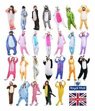 Ladies Mens Unicorn Pyjamas Unisex Animal Xmas onesie17 Cosplay Costume Pajamas