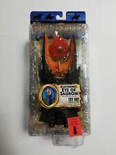 Herr der Ringe ROTK Eye of Sauron Triologie 15 cm Figur MIB von Toybiz